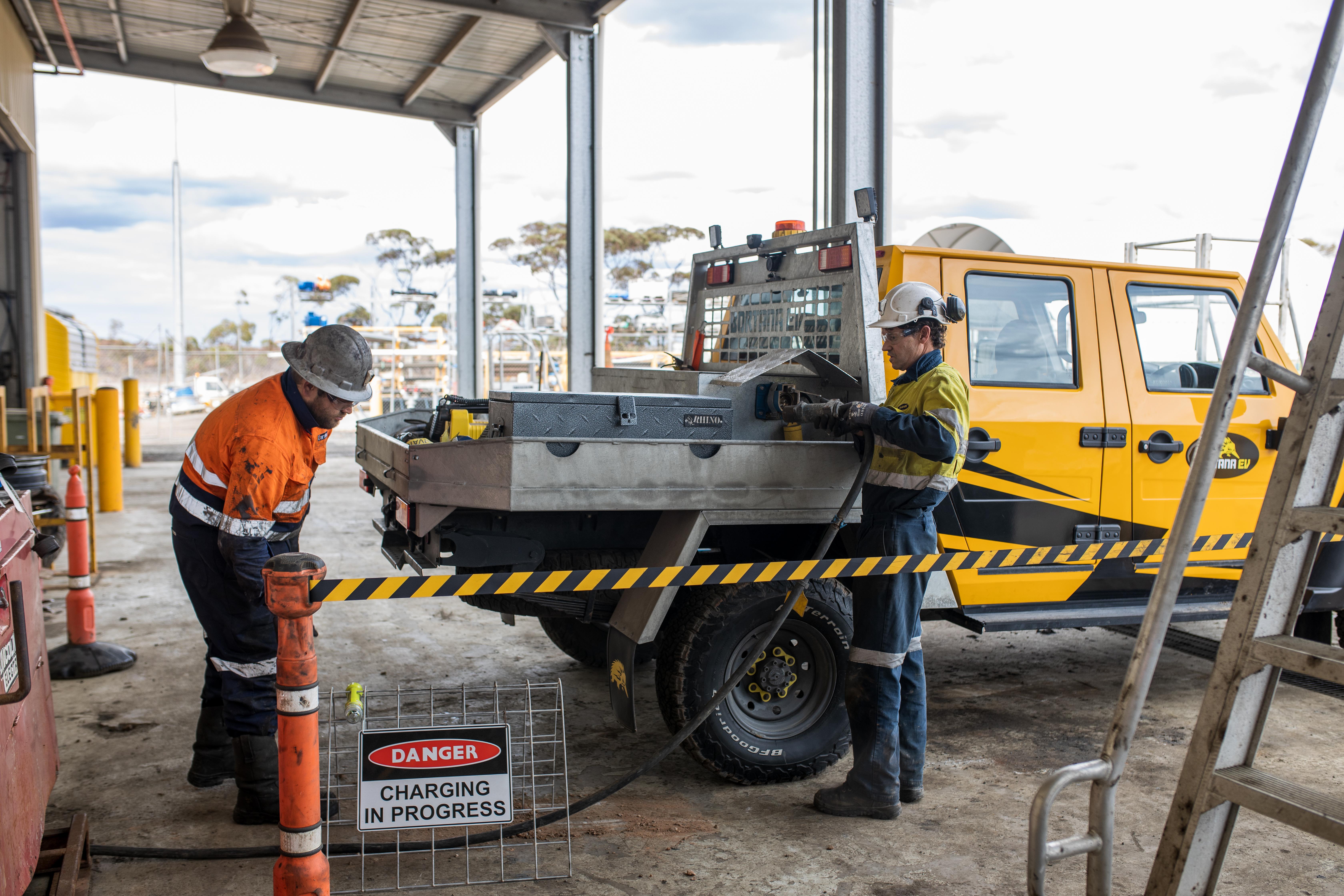 Electric vehicle trial success at IGO's Nova mine • 0O6A0340 1
